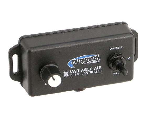 Variable Speed Controller for M3 Pumper Systems by Rugged Radios