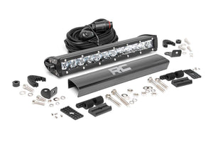 ROUGH COUNTRY 12-INCH CREE LED LIGHT BAR - (SINGLE ROW | CHROME SERIES)
