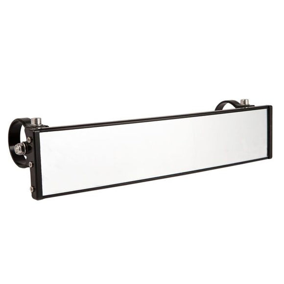 12″ Wide Panoramic Rearview Mirror with 0.5″ Arms by Axia Alloys