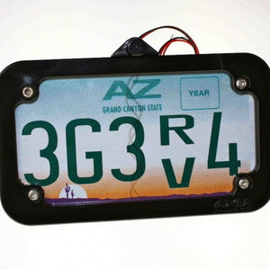 Tube Mounted License Plate Frame