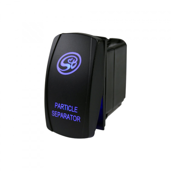 LED ROCKER SWITCH W/ S&B LOGO FOR PARTICLE SEPARATOR by S&B