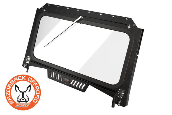 2019 – Current Polaris RZR 1000 Front Folding Windshield with Wiper & Vents