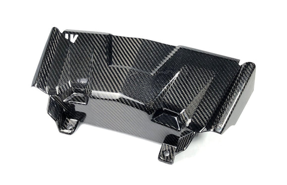 19+ POLARIS RZR / 18+ TURBO S CARBON FIBER BUMPER COVER - by FourWerx