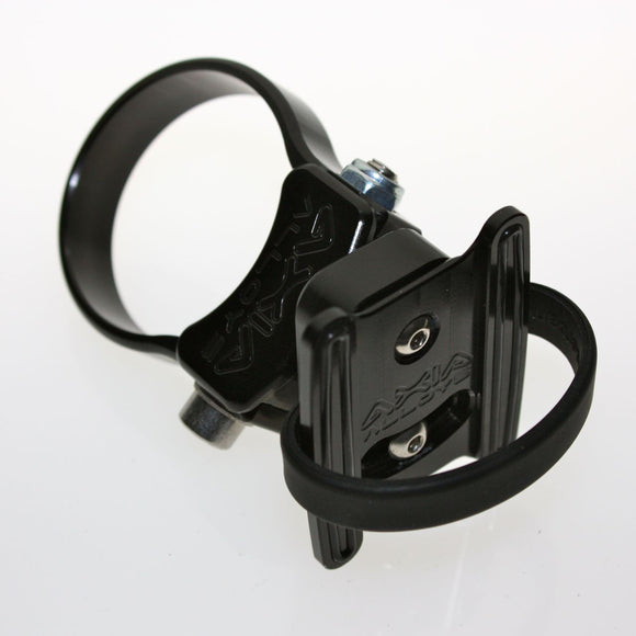 Small cell phone CAGE / HANDLEBAR MOUNT Ipod nano Iphone - by Axia Alloys