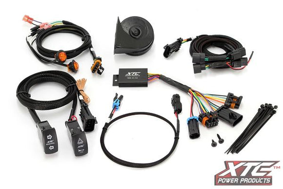 Motorsports Plug & Play Self Canceling Turn Signal System w/ Horn Honda Talon 19 by XTC