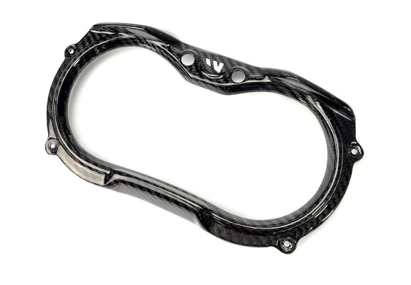 CAN AM MAVERICK X3 CARBON FIBER GAUGE SURROUND - by Fourwerx