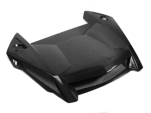 19+ POLARIS RZR / 18+ TURBO S CARBON FIBER HOOD - by FourWerx