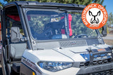 Polaris Ranger Glass Folding Windshield by Razorback Offroad