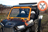 Polaris RZR 900/1000/Turbo Front Folding Windshield by Razorback Offroad