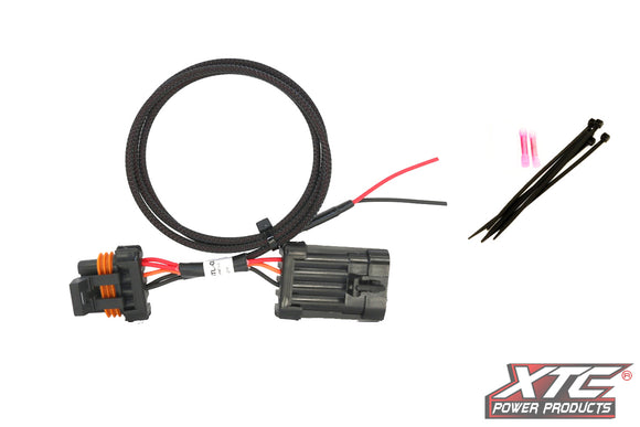 XTC RZR XP Plug & Play Power Out License Plate & Whip Light – Plugs into Rear LED Tail light