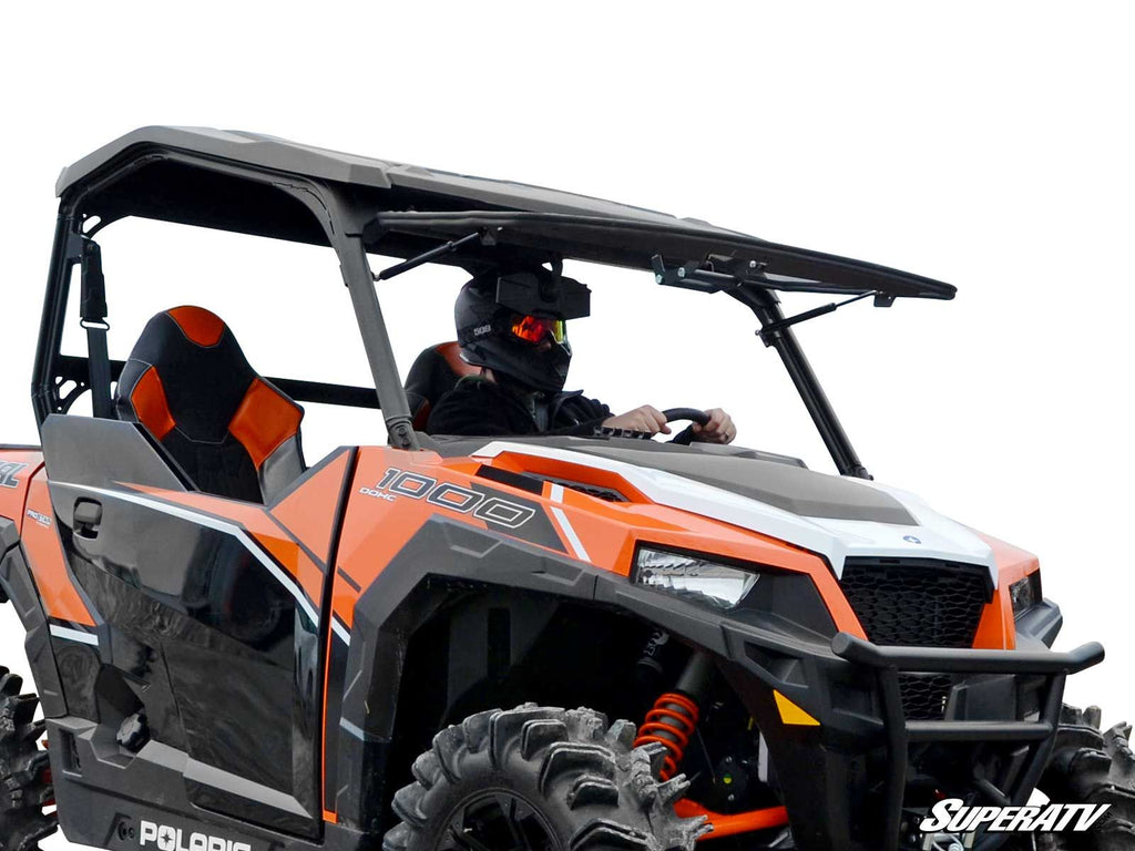 Polaris Polaris General Scratch Resistant Flip Windshield by Super ATV
