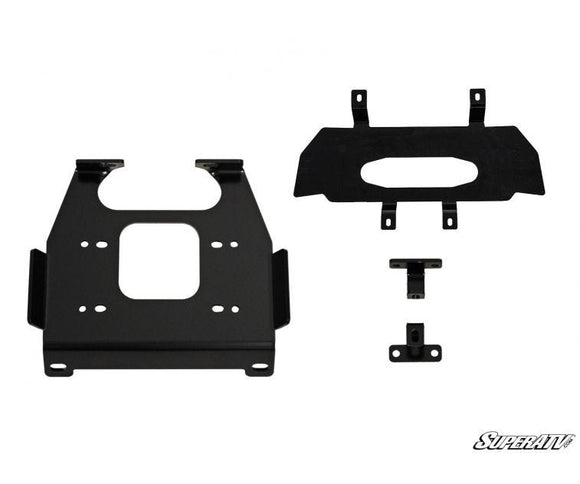 Polaris RZR XP 1000 Winch Mounting Plate by SuperATV