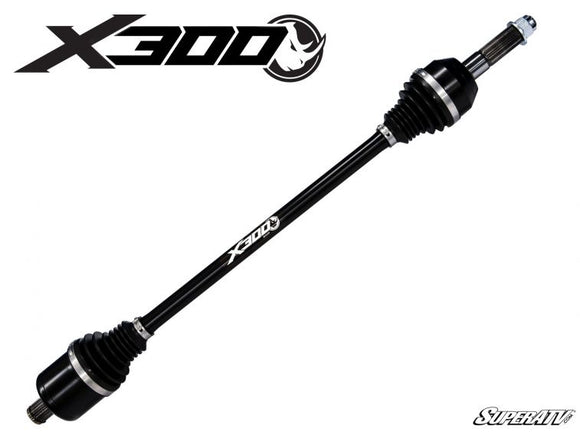 Polaris RZR XP Turbo Heavy Duty Axles X300 - By SuperATV