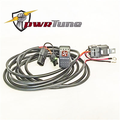 PWRTUNE X3 Intercooler Fan Switch and Harness Kit