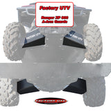 "Polaris Ranger XP 900 3/8"" Ultimate UHMW Skid Plate Package by Factory UTV"