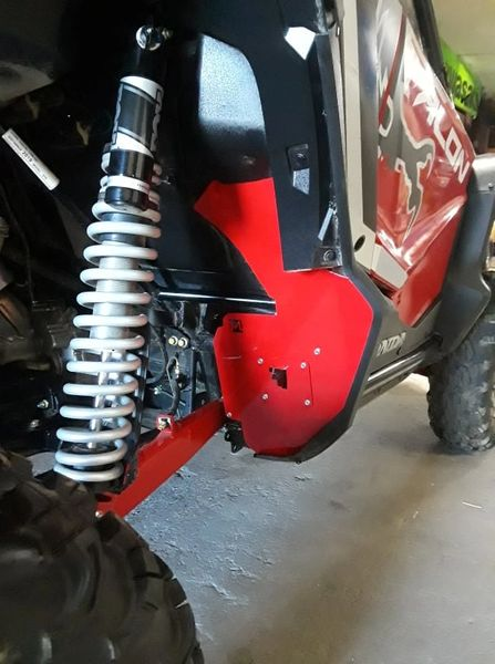 HONDA TALON REAR MUD GUARDS by McNasty Customzz
