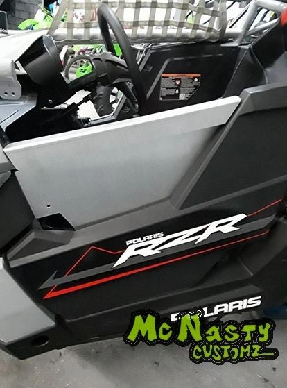 POLARIS RS1 UPPER DOOR INSERTS by McNasty
