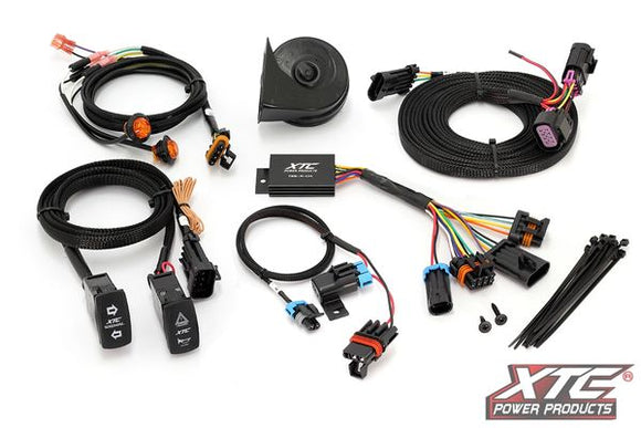 XTC 2Polaris Ranger XP 1000 (with Factory Ride Command) Self-Canceling Turn Signal System and Horn ATS-POL-RCBU