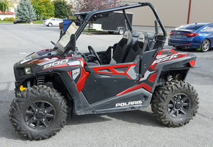 Polaris RZR 900 TRAIL 2015+ Mud Flaps / Fender Extensions, Front & Rear by ROKBLOKZ