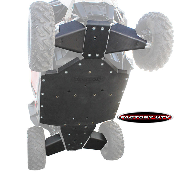 Polaris RZR 1000 S Ultimate UHMW Skid Plate Package by Factory UTV
