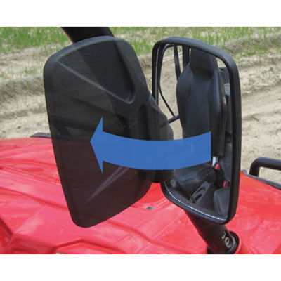 UTV Side View Mirror Kit for Polaris by Seizmik