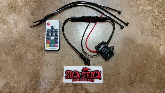 Replacement VooDoo Black Whip Remote