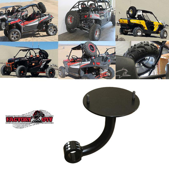 Single Clamp Spare Tire Mount by Factory UTV