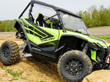 Honda Talon Lower Door Inserts-Dark Tinted by Spike Power Sports