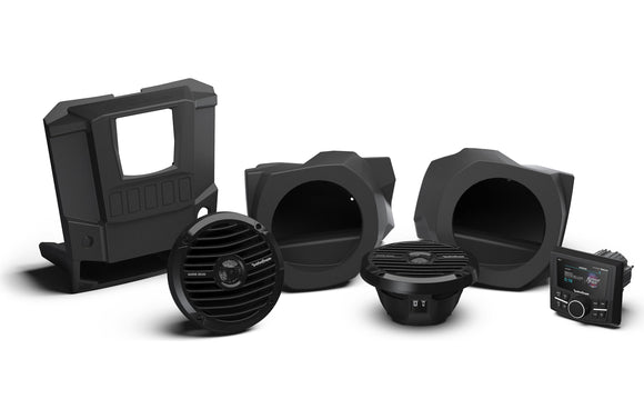 Stereo and front lower speaker kit for select RANGER® models RNGR-STAGE2 by Rockford Fosgate