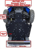 "Kawasaki 3/8"" and 1/2"" Ultimate Skid Packages by Factory UTV (FUTV)"