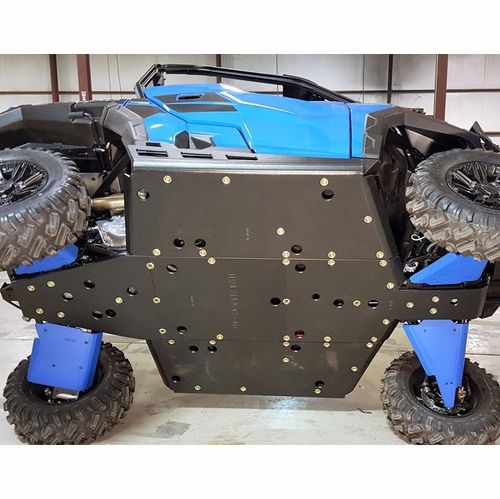 Trail Armor UHMW Full Skid Plate w| Nerf Sliders - 2016-18 Polaris General 1000