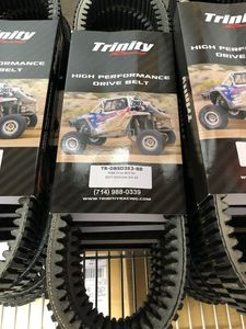 Trinity Racing Worlds Best Belt by Gboost for CanAm