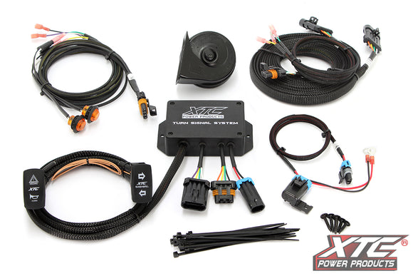 XTC Universal Plug & Play Turn Signal System with Horn – Uses OE Brake Lights