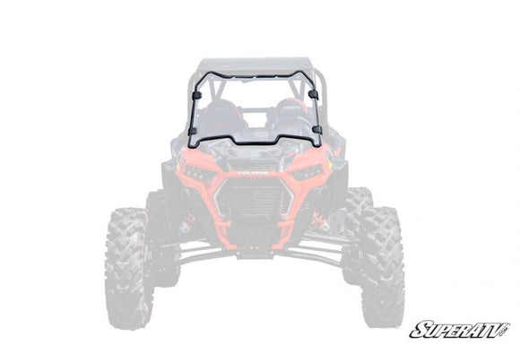 Polaris RZR XP Turbo S Flip Down Windshield by SuperATV