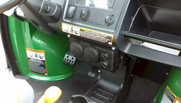 Ice Crusher Compact Under Dash Heater for John Deere 625i by Couper's