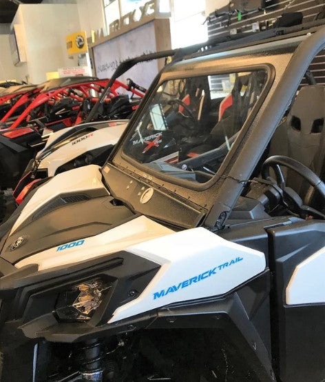 CANAM MAVERICK TRAIL/SPORT FRONT WINDSHIELD by DWA (Dirt Warrior Accessories)