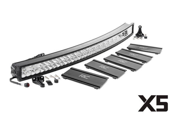 ROUGH COUNTRY 52-INCH CURVED CREE LED LIGHT BAR - (DUAL ROW | X5 SERIES)