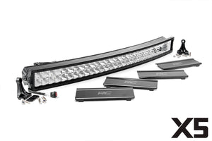 ROUGH COUNTRY 40-INCH CURVED CREE LED LIGHT BAR - (DUAL ROW | X5 SERIES)