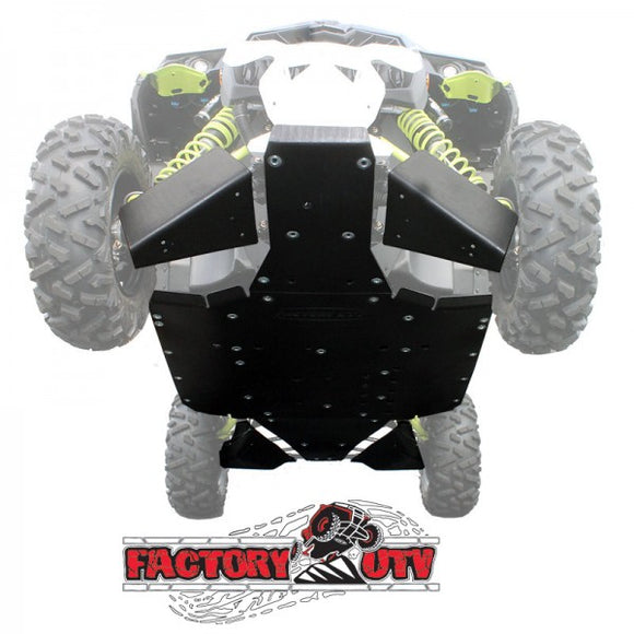 Can-Am Maverick XDS/Turbo Ultimate Skid Packages by Factory UTV (FUTV)