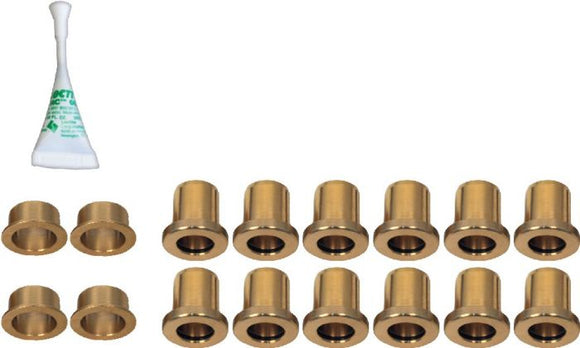 POLARIS RZR XP 1000 A-ARM BRASS BUSHING KIT (2014-2016) by Zbroz