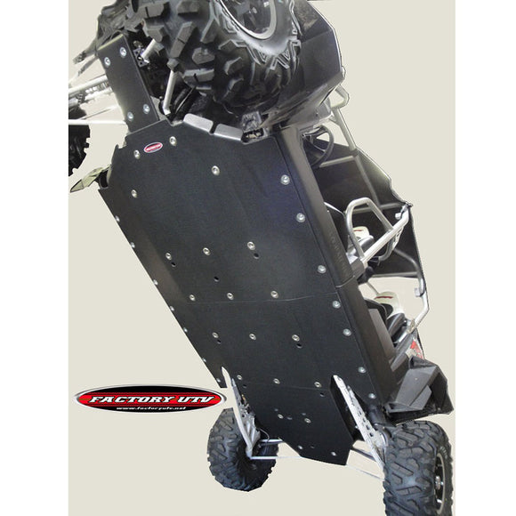 Polaris RZR XP 900 and XP 4 900 UHMW Full Skid Plate by FUTV