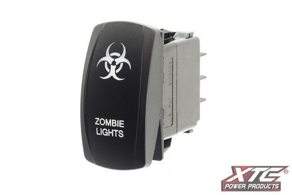 XTC Carling Switch with Zombie Lights Actuator/Rocker