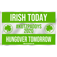 KutzPaddys Day Official 3'x5' Flag