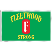 Fleetwood Strong Single Sided 3'x5' Flag