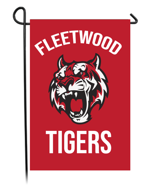 Fleetwood Tigers Garden Flag
