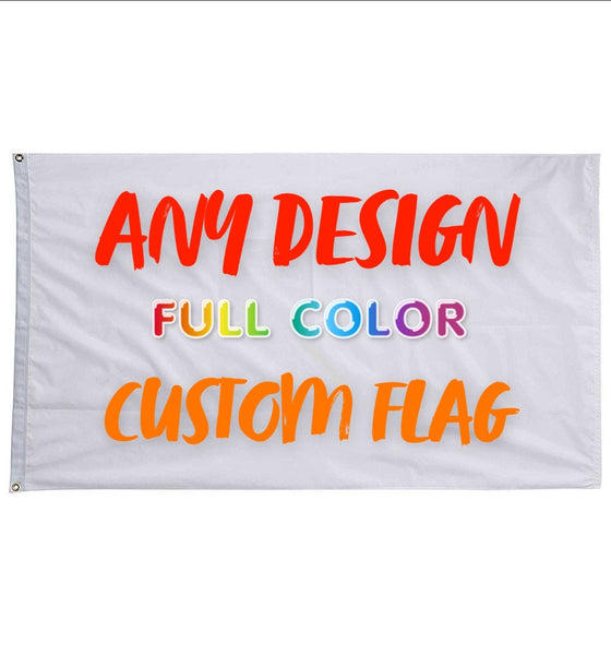 Your Custom Design 3'x5' Flag