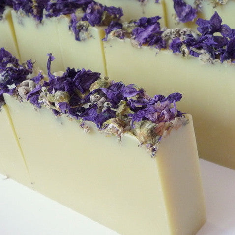 Double lavender - natural soap