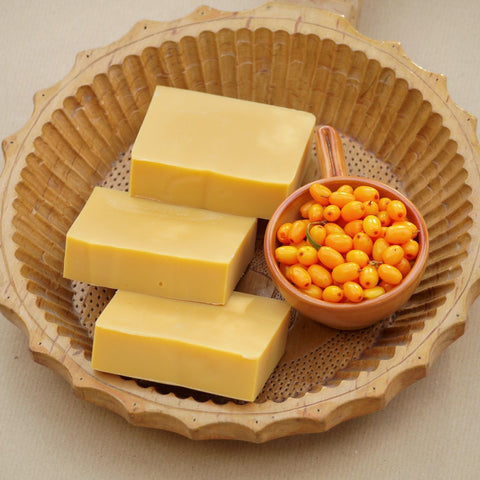 Soft sea buckthorn - natural soap