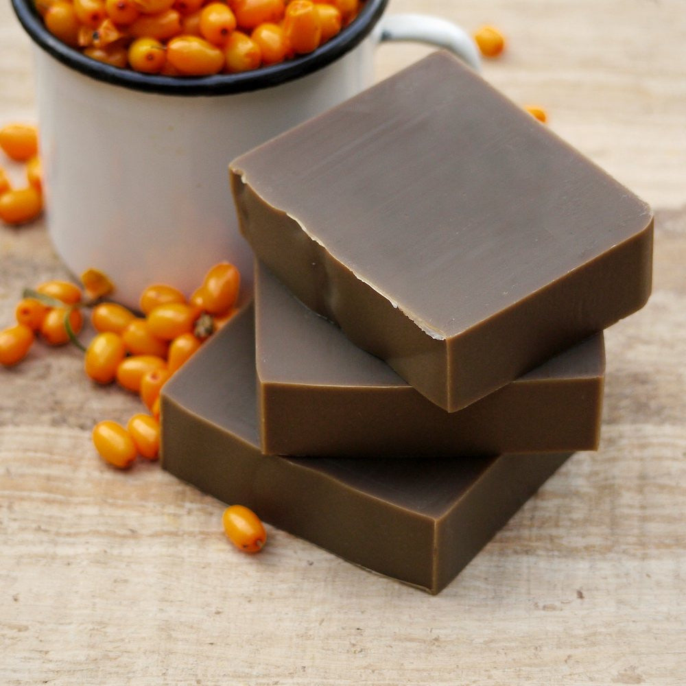 Ichtamol soap with seabuckthorn - natural soap