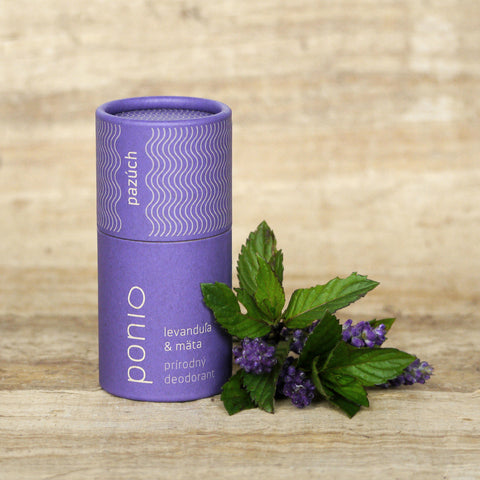 Lavender & mint - natural deodorant